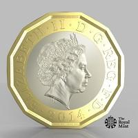 The Bolton News: The new one pound coin announced by the Government will be the most secure coin in circulation in the world (HM Treasury/PA)