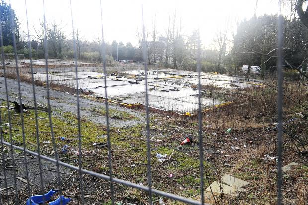 The Bolton News: The mothballed site of the former Swallowfield Hotel