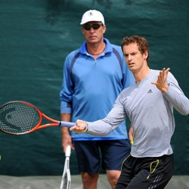 The Bolton News: Andy Murray, right, has announced he has split from coach Ivan Lendl