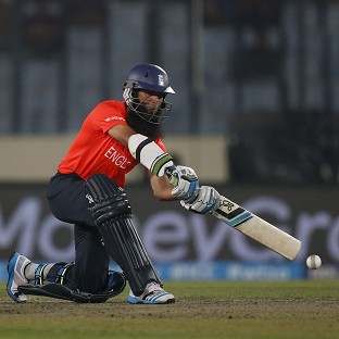 Moeen Ali top-scored for England with 46 against India (AP)