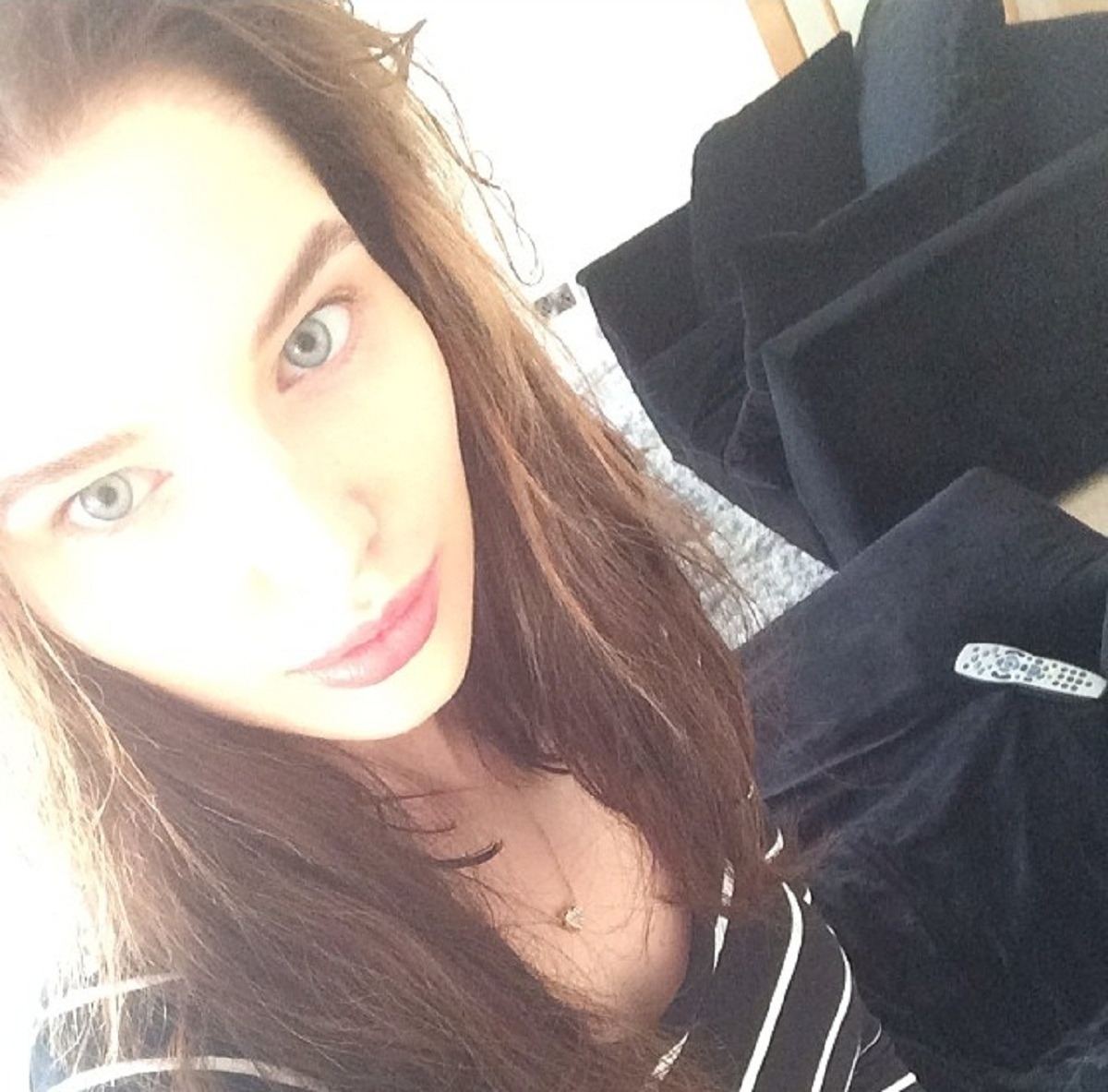 Helen Flanagan's no makeup selfie