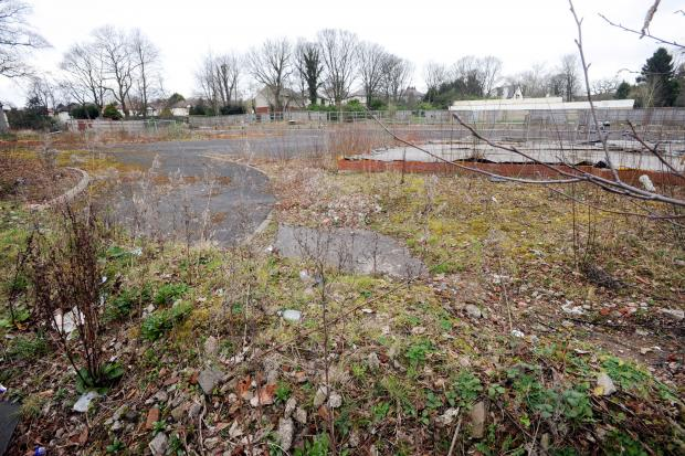 The 'eyesore' site in Chorley New Road