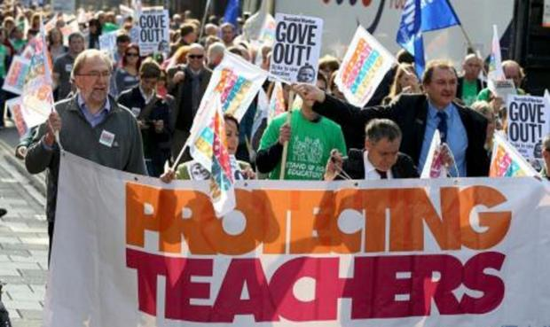 Schools shut as teachers walk out on strike