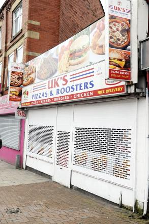 Illegal fruit machine seized from town centre takeaway