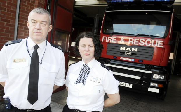 Suspected arsonists to be watched
