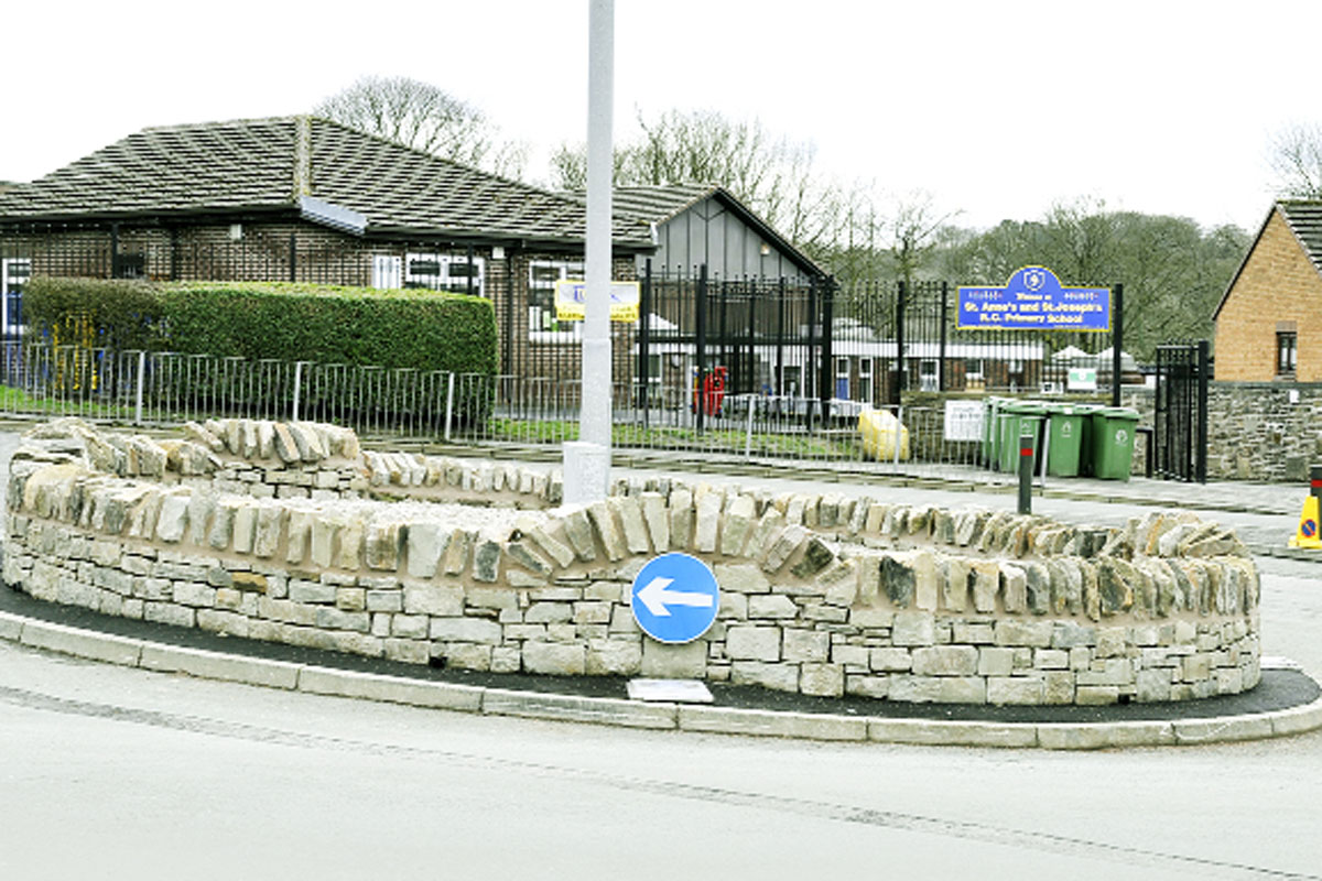 Council rapped over Accrington wall costs
