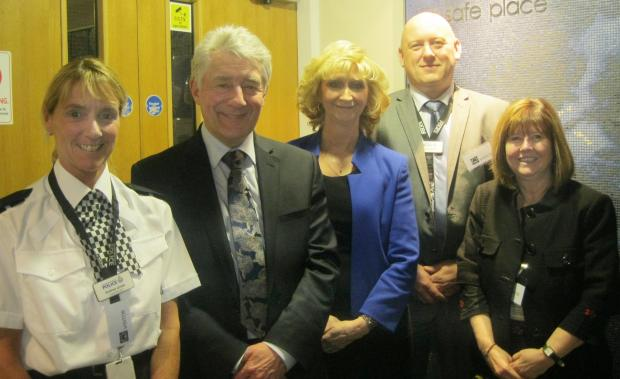 The Bolton News: Police commissioner Tony Lloyd praises work of Fortalice