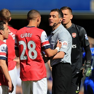 Referee Andre Marriner caused controversy at Stamford Bridge last Saturday