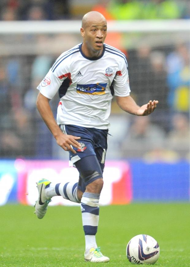 The Bolton News: BAP IN THE PICTURE: Alex Baptiste is ready to come back into the Wanderers team