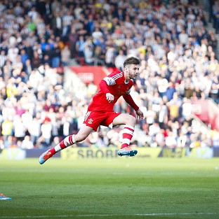 Adam Lallana scored a special goal in Southampton's thumping win over Newcastle