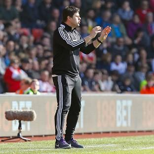 Mauricio Pochettino watched his side put four goals past Newcastle