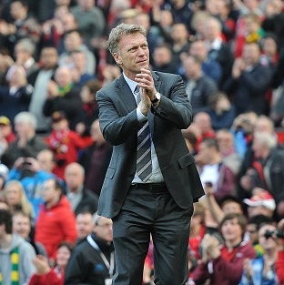 David Moyes described the support from Manchester United fans on Saturday as