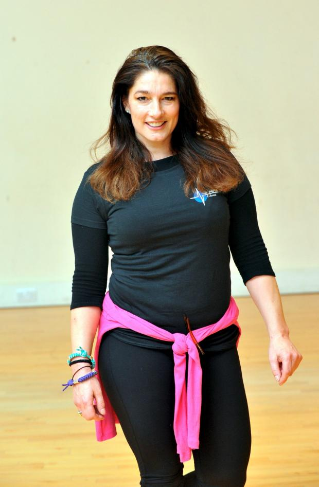 The Bolton News: Jet, aka Diane Youdale, who took an exercise class at Horwich Leisure Centre