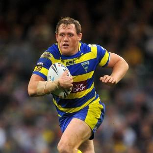 Ben Westwood went over for one of Warrington's tries