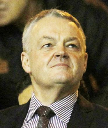 Wanderers chairman Phil Gartside