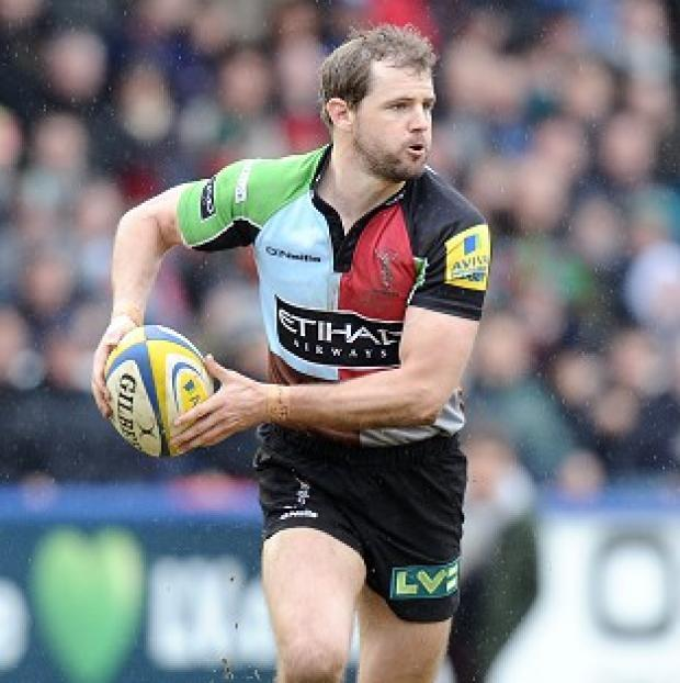 The Bolton News: Nick Evans' boot helped Harlequins reach the final