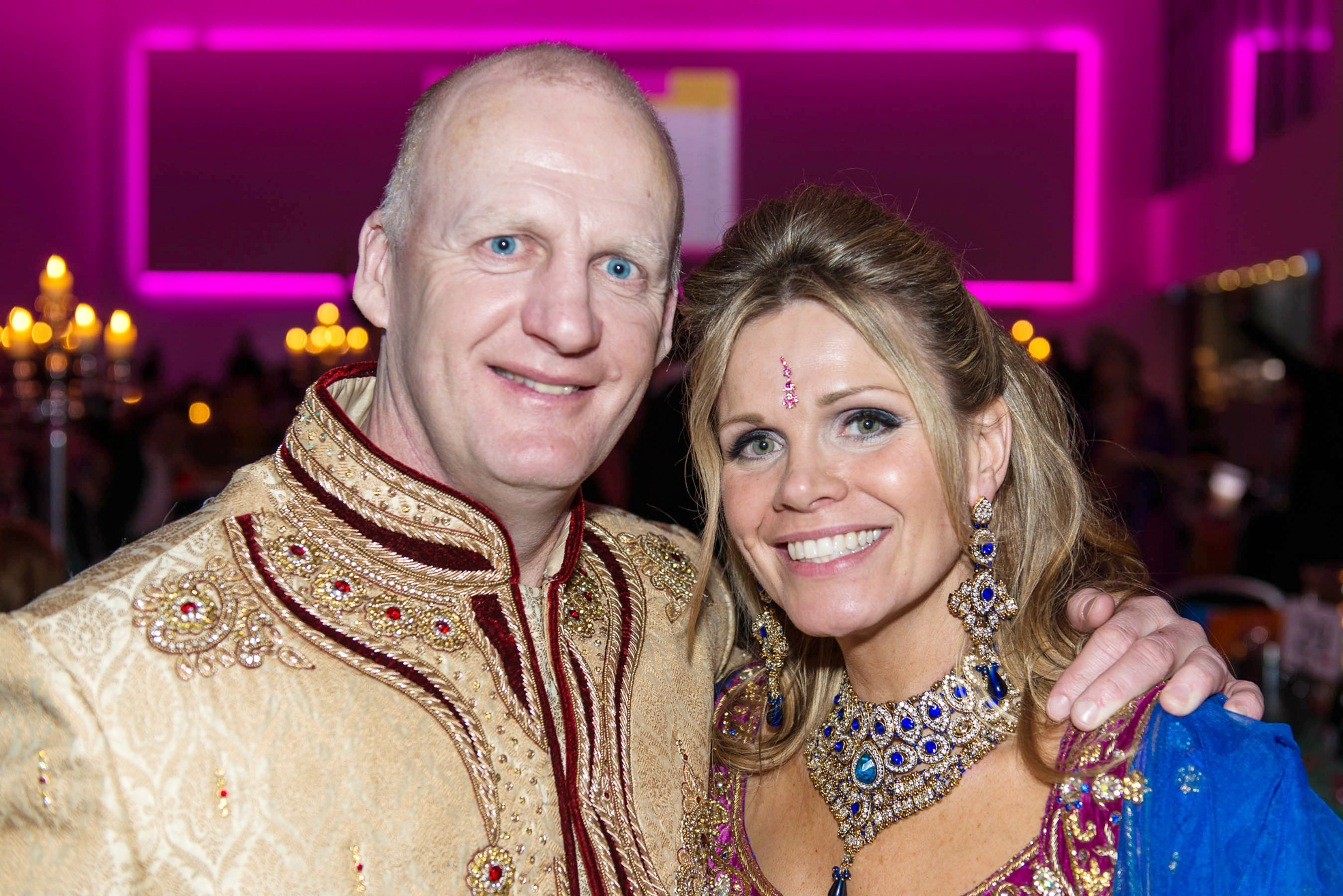 Iain and Debbie Dowie sign up for Great Manchester Run