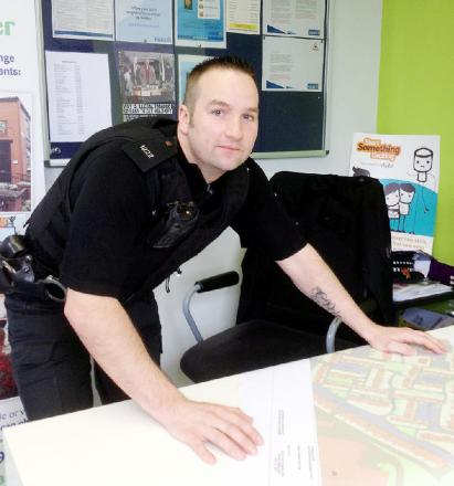 PC Ian Roby wants to gain the trust of residents