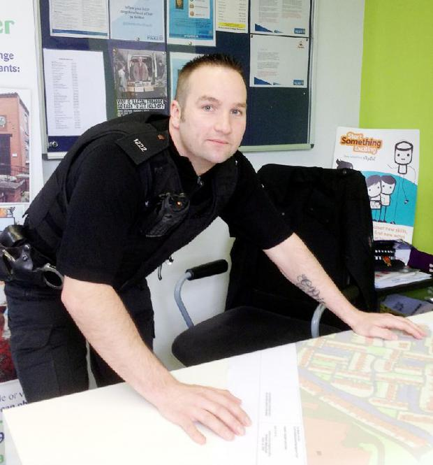 The Bolton News: PC Ian Roby wants to gain the trust of residents