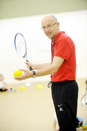 Barry Leese has introduced thousands of youngsters to a wide variety of sports