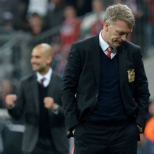 David Moyes was not impressed with Manchester United's defending