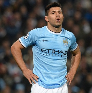 Sergio Aguero could return to face Liverpoo