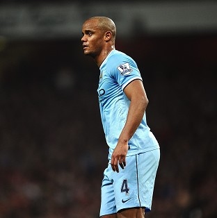 Vincent Kompany is looking forward to Sunday's battle with Liverpool
