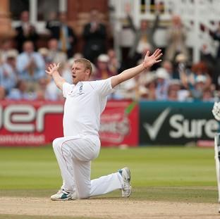 Andrew Flintoff may be pleasing the crowds ag