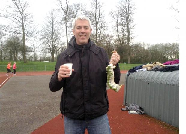 It was no token effort by our own Neil Bonnar when he was given a very important job at Bolton parkrun