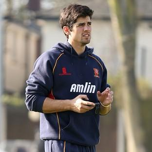 Alastair Cook was unbeaten on 139