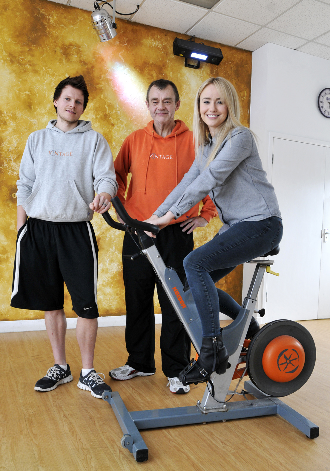 Emmerdale star backing health and fitness drive