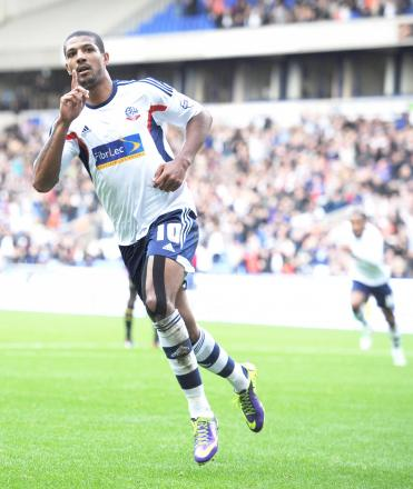 Jermaine Beckford needs one more goal to reach 10 for the campaign