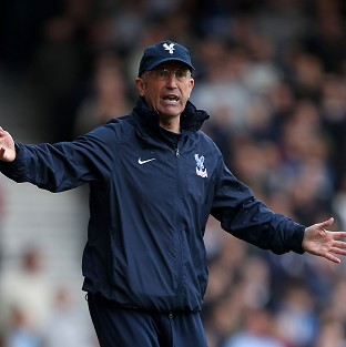 Tony Pulis hailed his forwards after their performance at Upton Park