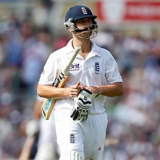 Jonathan Trott, pictured, has received support from Australia batsman David Warner