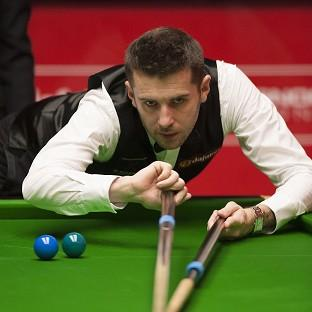 The Bolton News: Mark Selby, pictured, clung on to beat Michael White