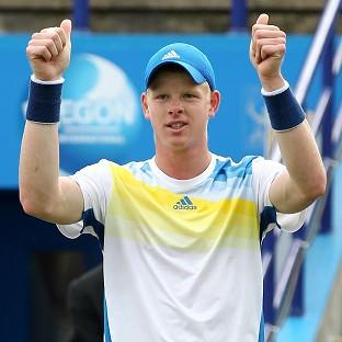 Former US Open finalist Greg Rusedski is to coach Kyle Edmund, pictured