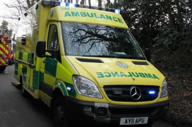MAN taken to hospital after car crashes into tree in Horwich