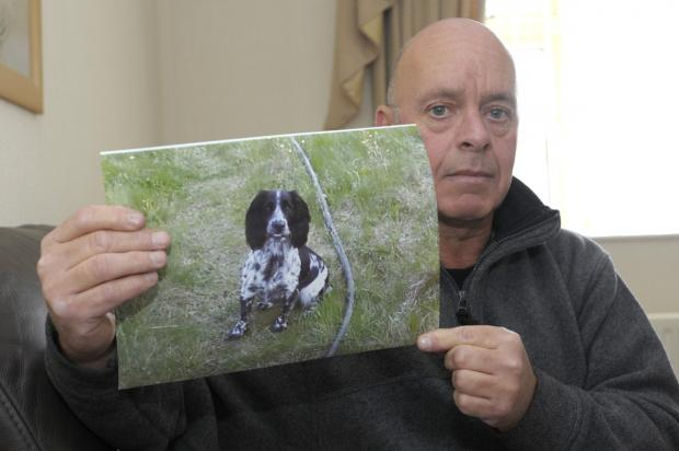 The Bolton News: Gary Hallows believes his dog Sally died from the disease