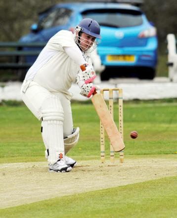 Batsman Phil Cavill hit a half century for Horwich as they beat Heaton