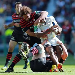 Jacques Burger made 27 tackles against Clermont in Saturday's Heineken Cup semi-final