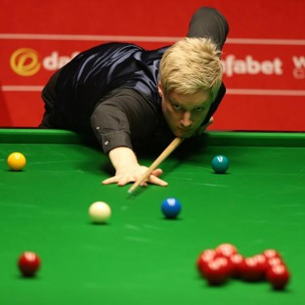 The Bolton News: Neil Robertson, pictured, is through to the World Snooker Championship quarter-finals