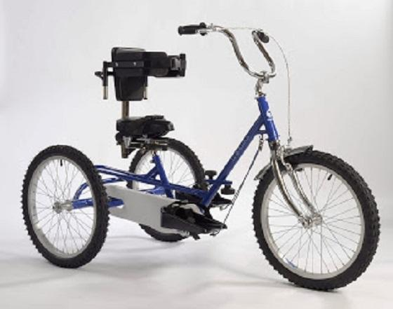 A trike like the one stolen from a 14-year-old disabled boy in Halliwell.