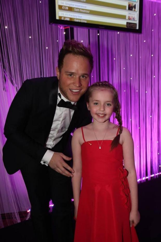 The Bolton News: Olly Murs and Ellie Pugh