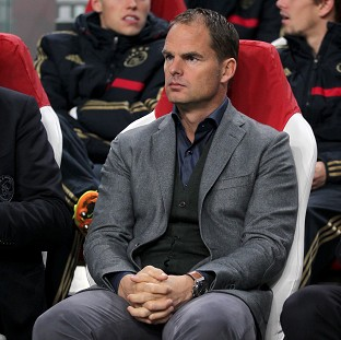Frank de Boer has been linked with the top job at Tottenham