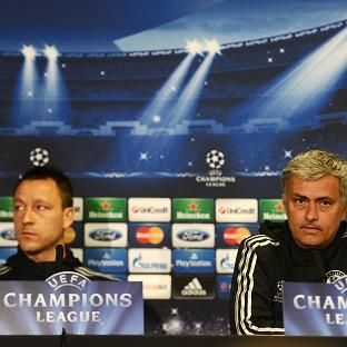 Chelsea Manager Jose Mourinho, right, has heaped praise on captain John Terry, left