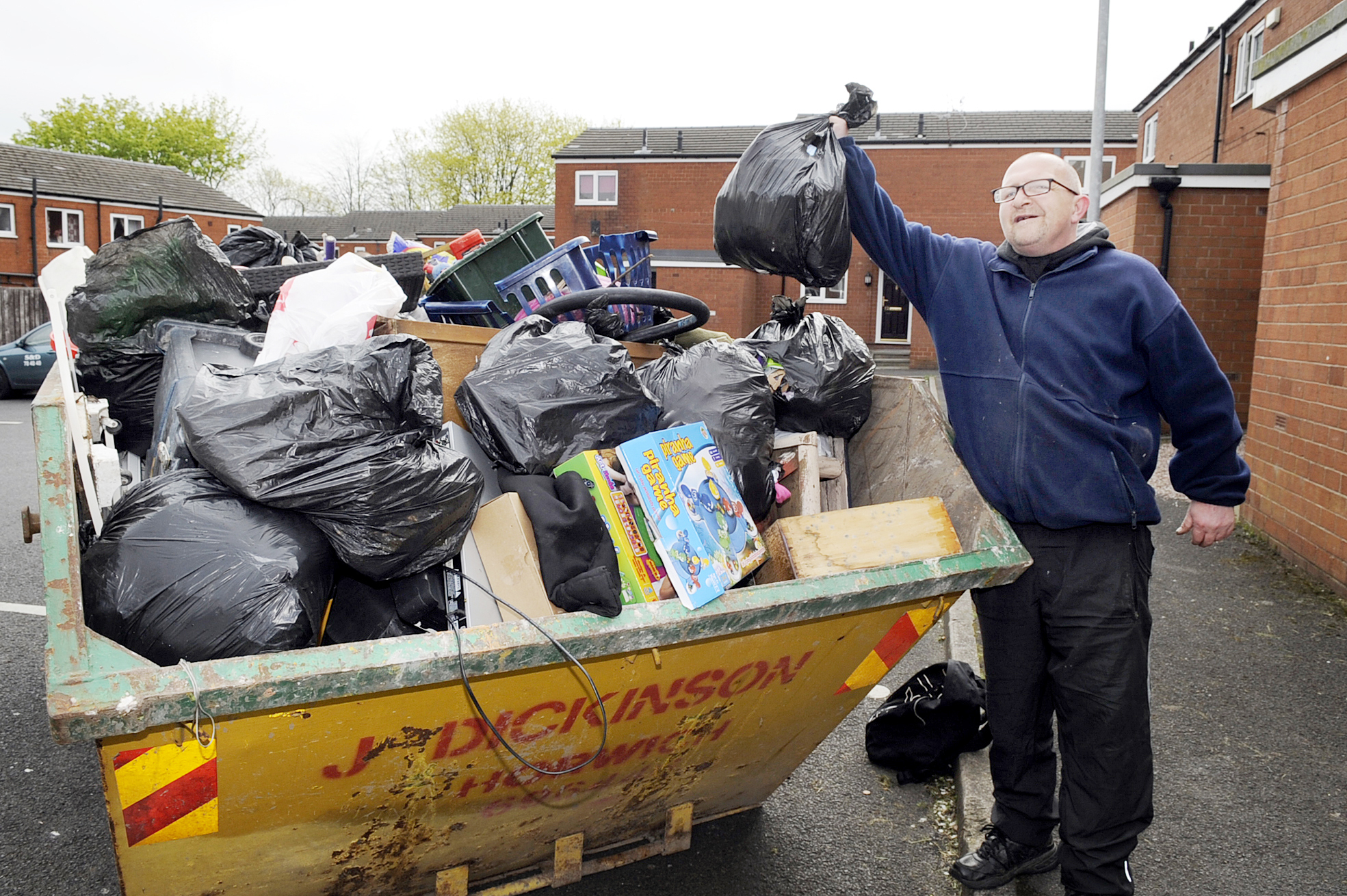 Clean-up of troubled Farnworth estates continues
