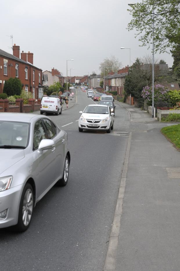 The Bolton News: Long delays caused by roadworks in Tyldesley