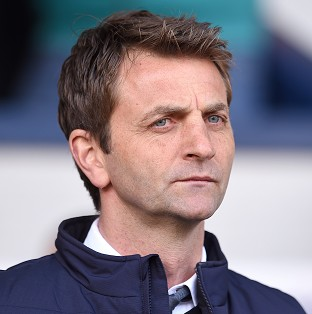 Tim Sherwood, pictured, has been backed by former England keeper Ray Clemence