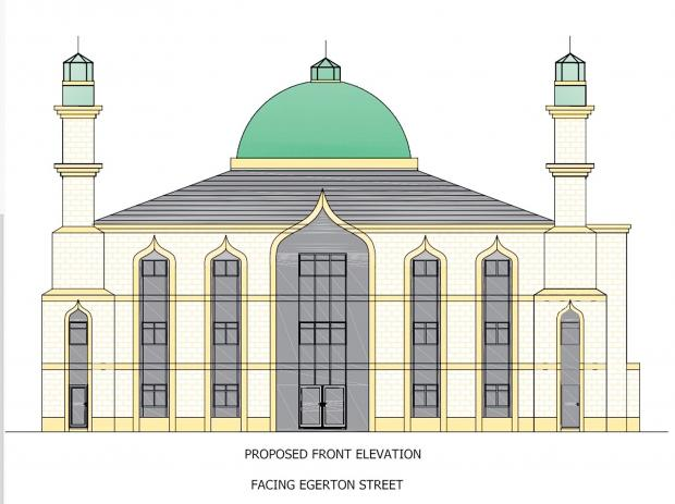 How the new Sughra Mosque in Farnworth could look