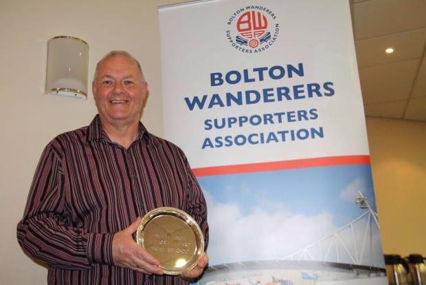 Bolton Wanderers stalwart Andrew Dean wins prestigious fans' award 3001644